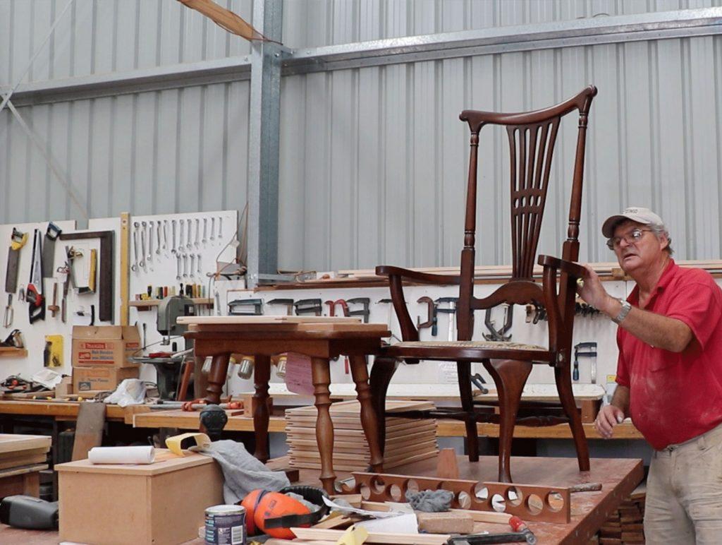 Narooma Men's Shed Chair Repair