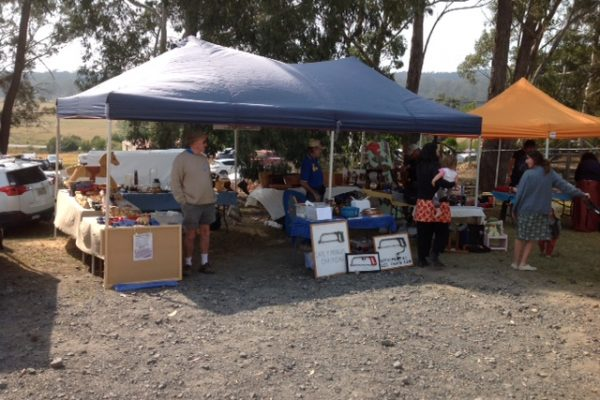 Narooma Men's Shed stall