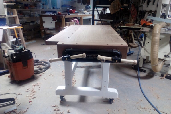 Benches for the new Narooma Men's Shed